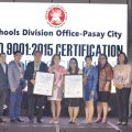 SDO-PASAY IS NOW ISO 9001:2015 CERTIFIED